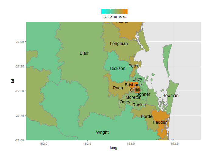 Sydney electorate boundaries in dating 6
